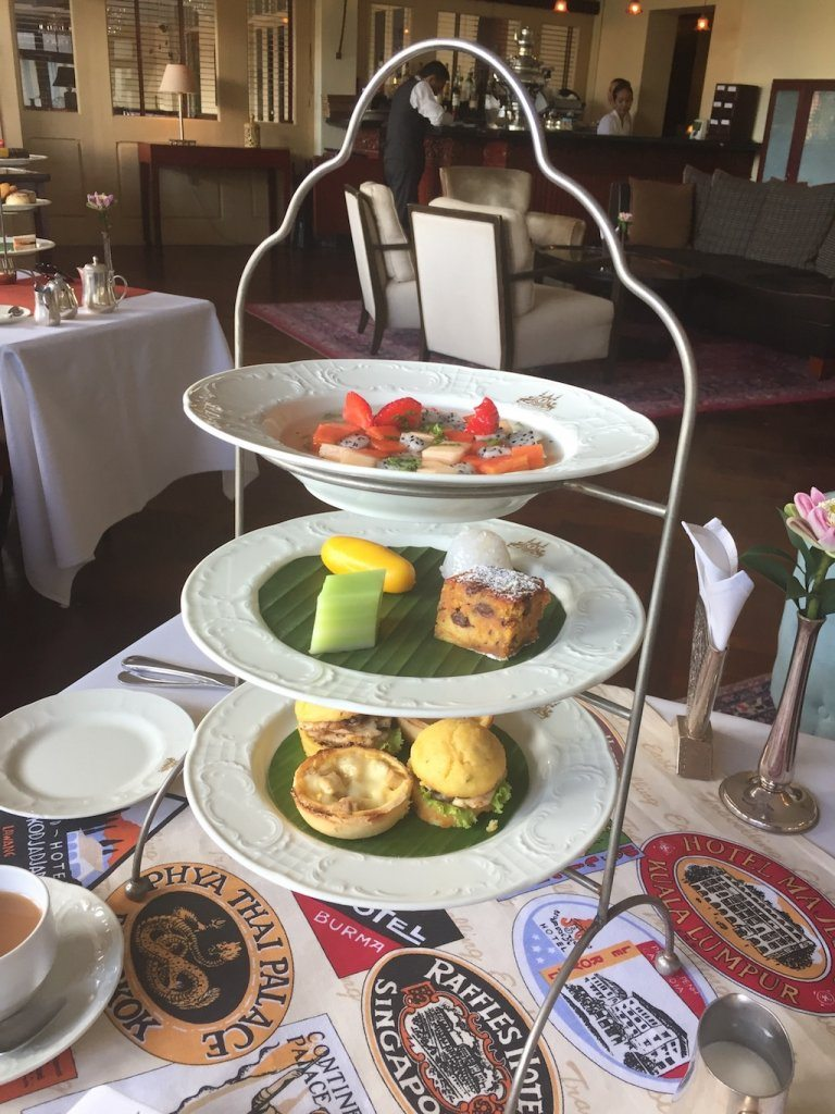 tropical Afternoon tea at Raffles Grand Hotel d'Angkor | Ladies What Travel