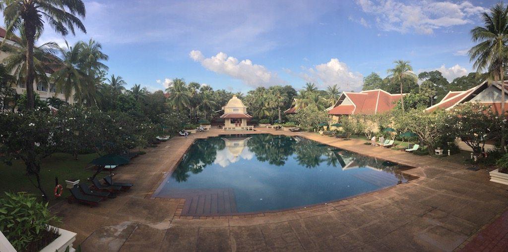 Pool at Raffles Grand Hotel d'Angkor | Ladies What Travel