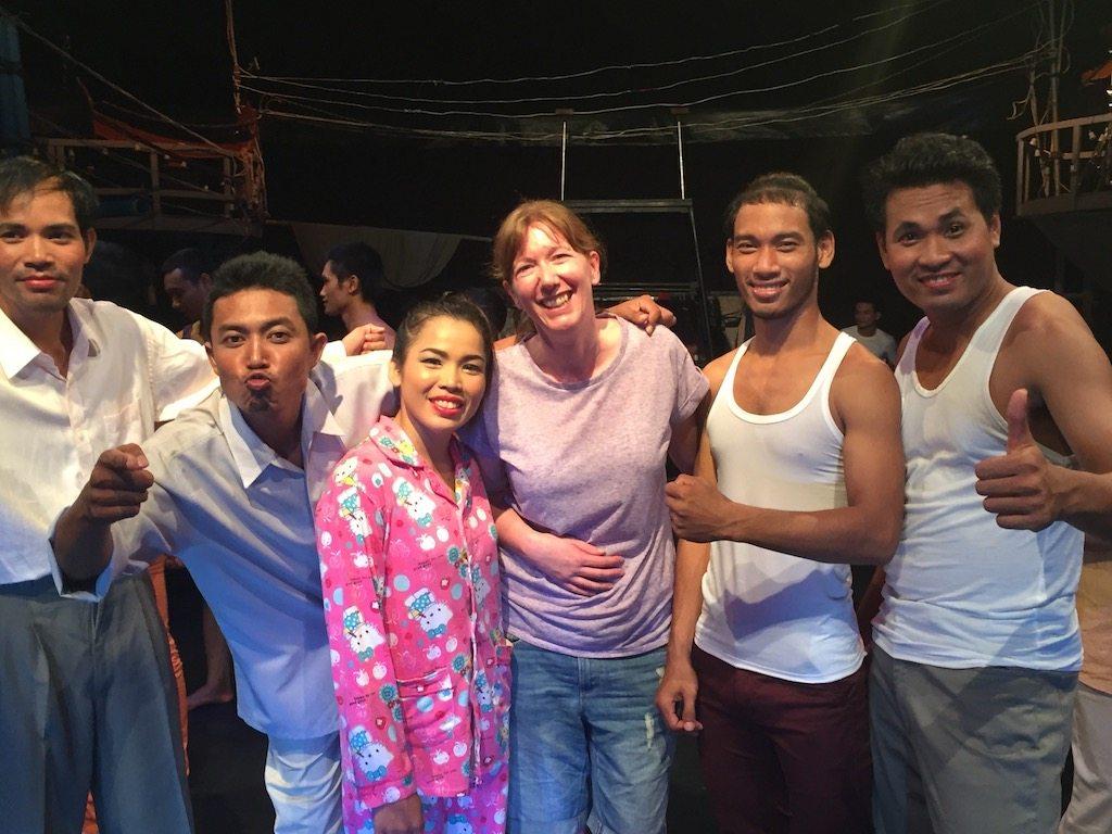 phaare circus performers Ladies What Travel