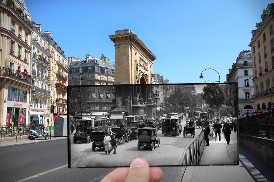 Boulevard Saint Denis 1910