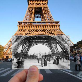 Tour Eiffel 1900