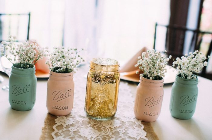 theknot.com - mason jar do it yourself