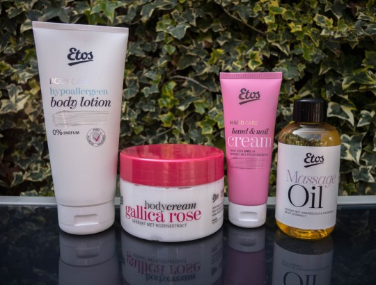 Body & Oils van Etos