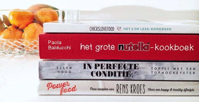 wednesday wishlist - kookboeken - header