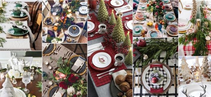 De mooiste tafeldecoratie voor jouw kerstdiner