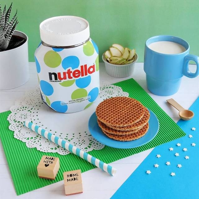 limited edition Nutella pot