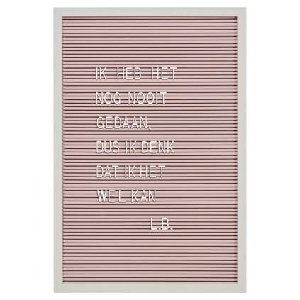 letterbord-roze