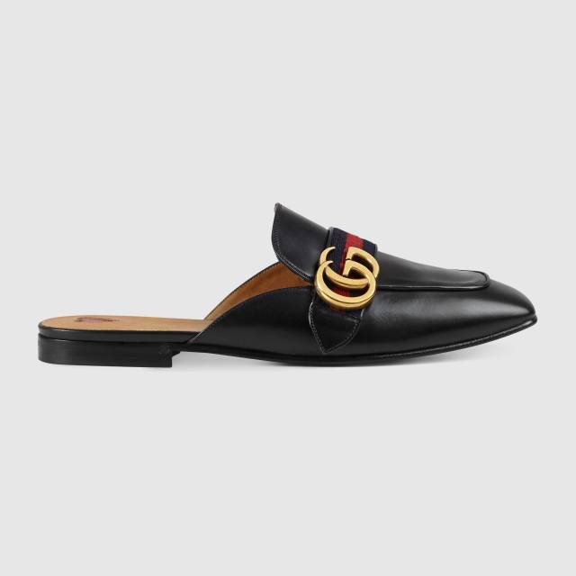 Gucci - Leather slipper