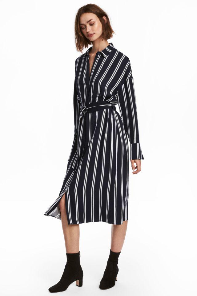 hm-overhemd jurk-39-99
