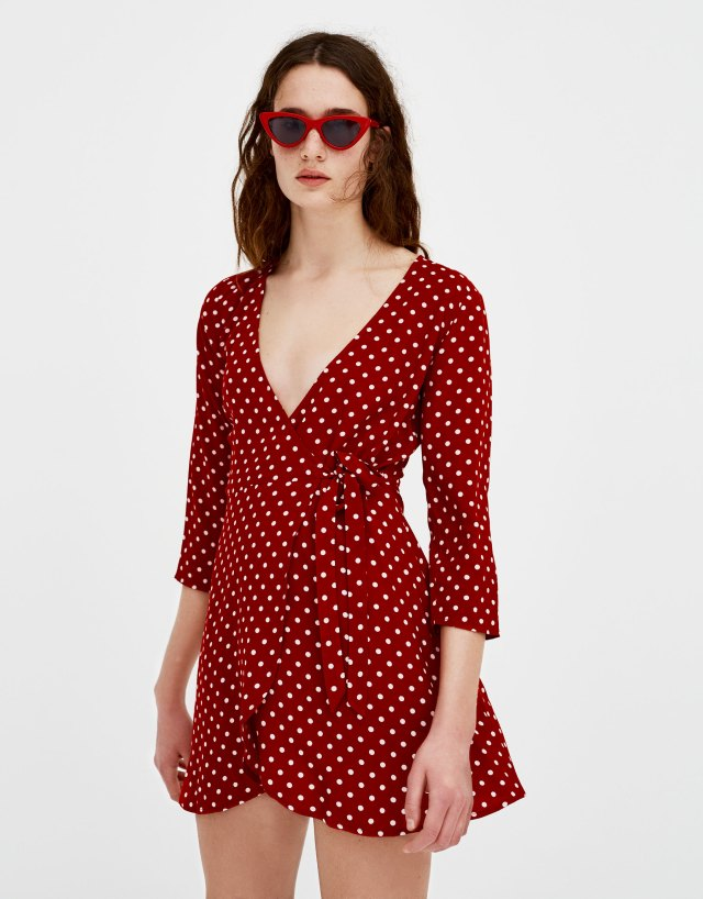 pullandbear-dress dots-29-99