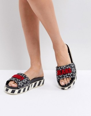 sliders tommy jeans