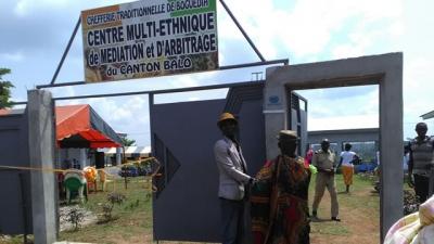 Côte d'Ivoire : Le premier centre multi-ethnique de médiation et d'arbitrage inauguré à Boguédia (Issia)