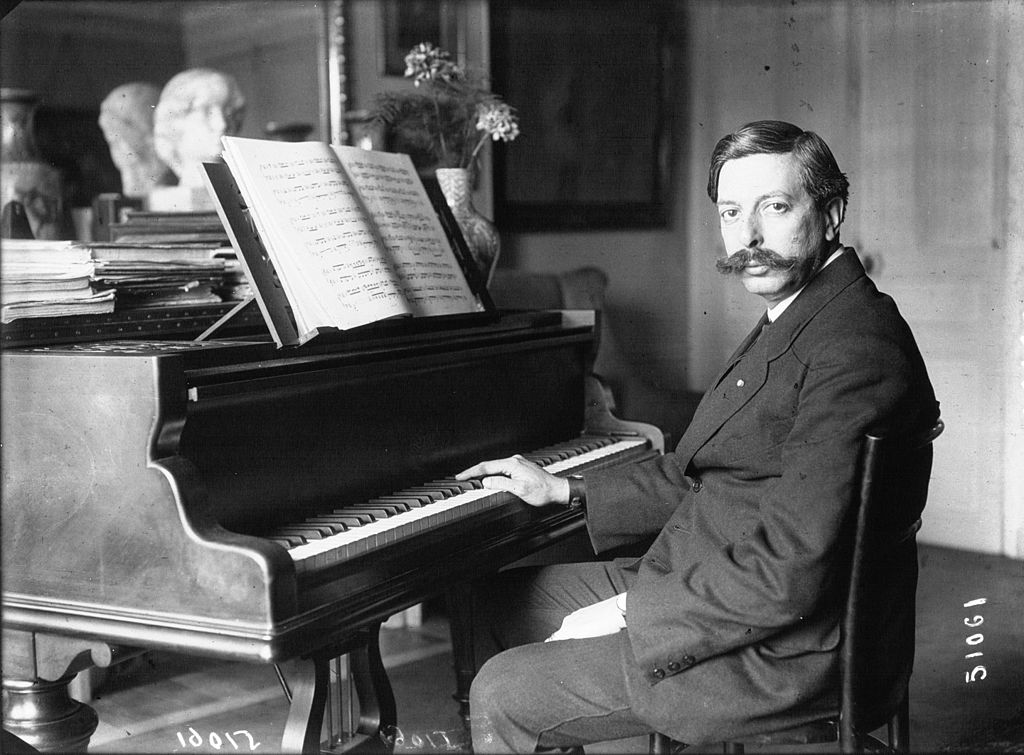 Enrique Granados 1914 - Agence de presse Meurisse