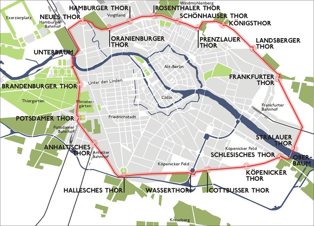 Muralla de la aduana de Berlín - Berliner Zollmauer - ph: Sansculotte/Wikipedia Creative Commons - Lado|B|erlin.