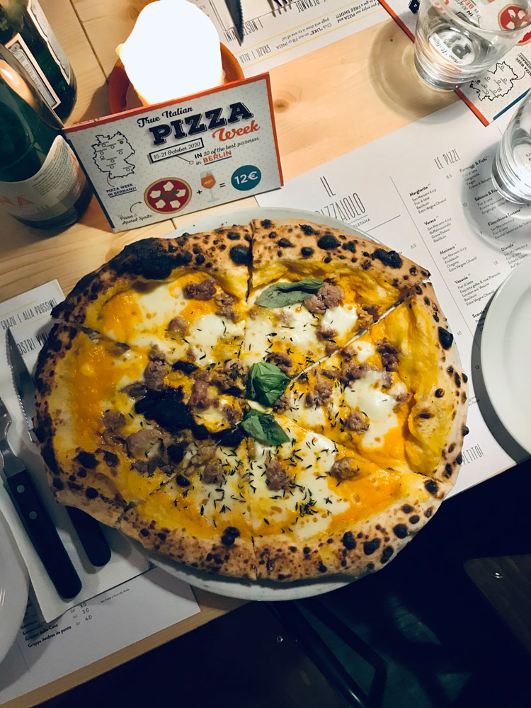 Il Pizzaiolo PIzza Positana - True Italian Pizza Week 2020 - Lado|B|erlin.