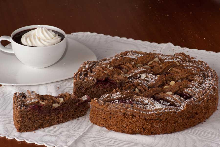 torta linzer originale con marmellata di ribes