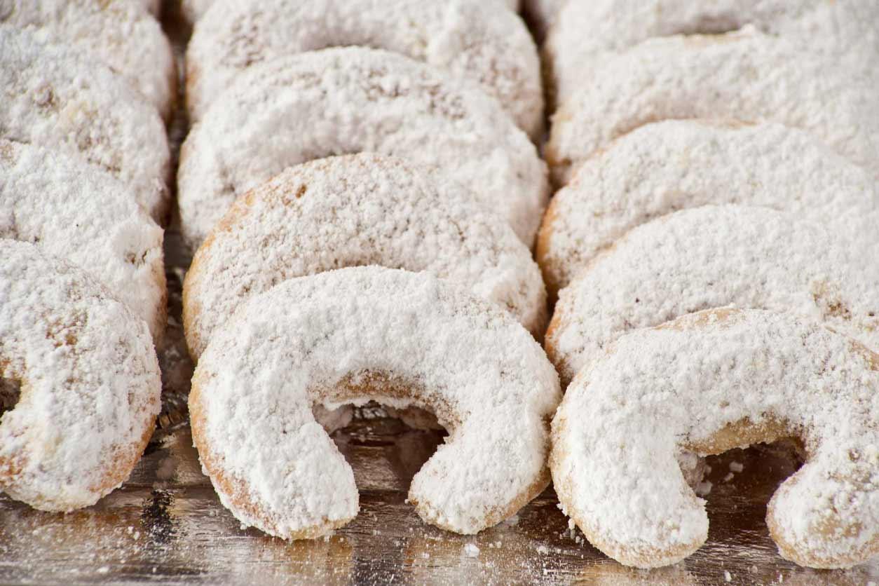 biscottini austriaci con farina di mandorle