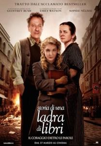 Regia: Brian Percival (USA 2013) con: Sophie Nelisse, Geoffrey Rush Orari: 17,30 – 20,00 -dramm. 131m