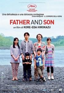Regia: Hirokazu Kore-Eda (J 2013) con: Masaharu Fukuyama, Machiko Ono Orari: 18,00 – 20,15 – 22,30 dramm. 120m.