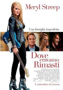 USA, 2015 Regia: Jonathan Demme Interpreti: Meryl Streep, Kevin Kline Orario: 16,15 – 18,15 – 20,15 Commedia. Durata 101 min.