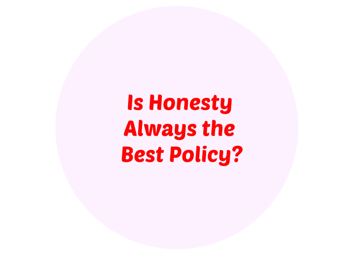 Food for Thought: Is Honesty Always the Best Policy?? La