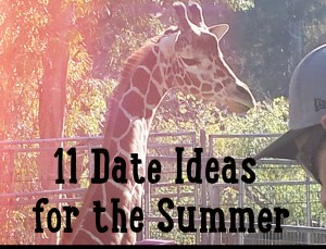 11 Fun Things to do as a Couple this Summer