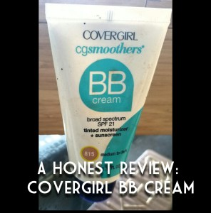 Reviews from my Makeup Box: CoverGirl BB Cream