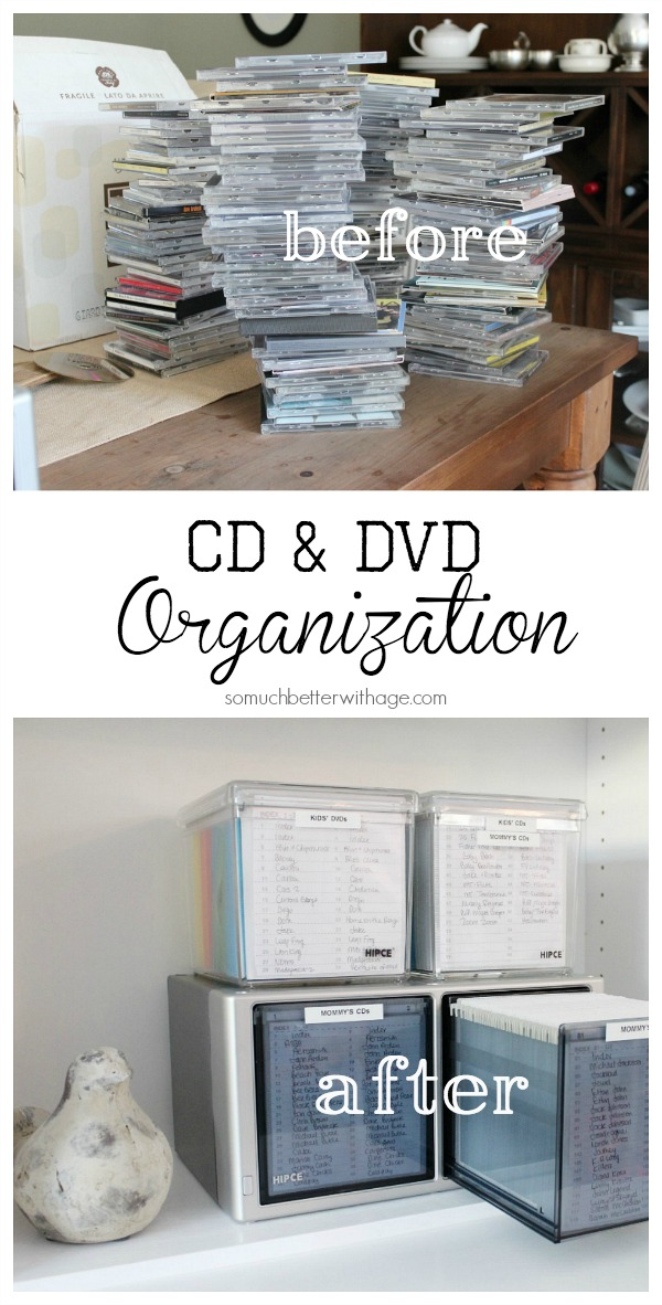 How to organize DVDs 4