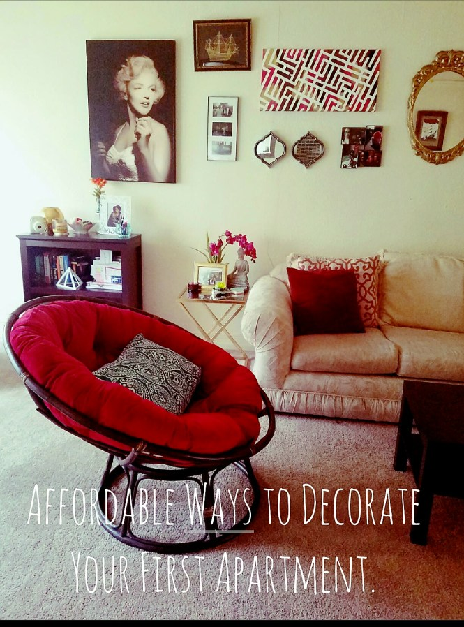 Affordable Ways To Decorate Your First