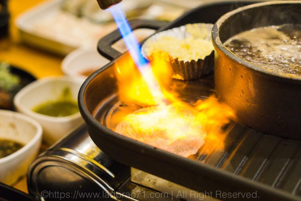 ร้าน Harapan Shabu Grill บุฟเฟ่ต์ปิ้งย่างชาบูในหม้อเดียว ซอยนาคนิวาส 18