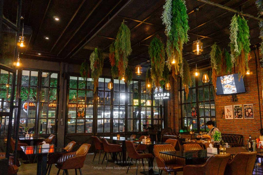 ร้านอาหาร ASAP. Food & Drinks - นาคนิวาส