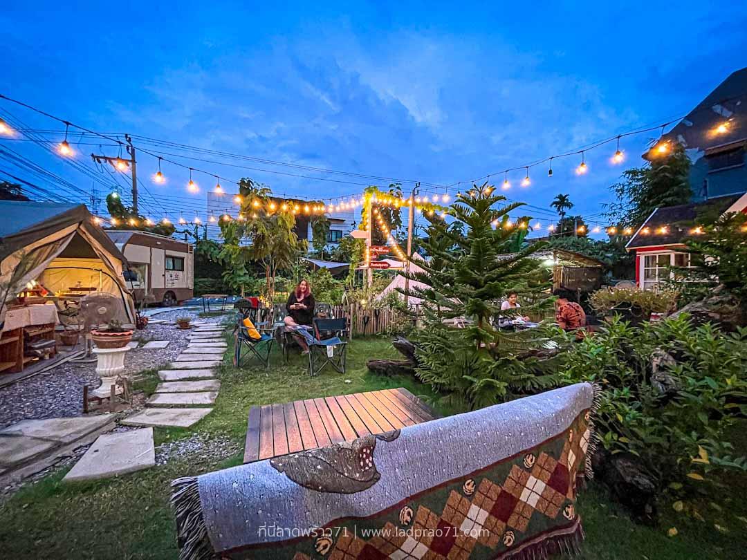 The Camp 78 แคมป์ปิ้ง BBQ ในสวนหลังบ้าน - โชคชัย 4