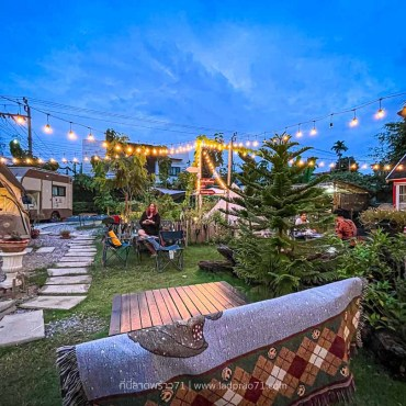 The Camp 78 แคมป์ปิ้ง BBQ ในสวนหลังบ้าน – โชคชัย 4