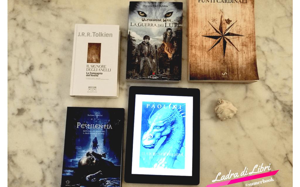 5 romanzi fantasy per l'estate