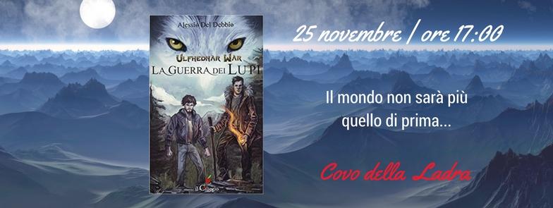 Al Covo arrivano i lupi con Alessio del Debbio e il suo ultimo urban fantasy
