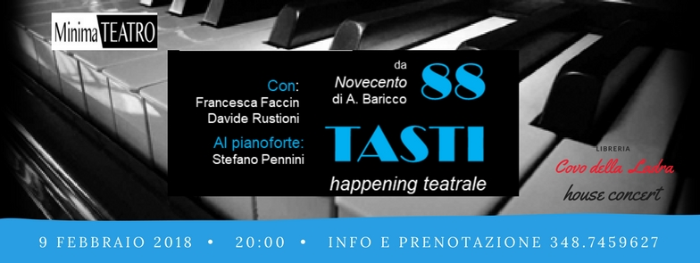 88 tasti – Happening Teatrale House Concert