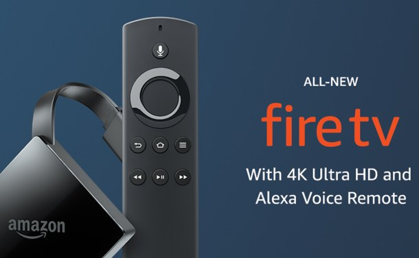 Amazon Fire TV with 4K Ultra HD – Streaming Media Player