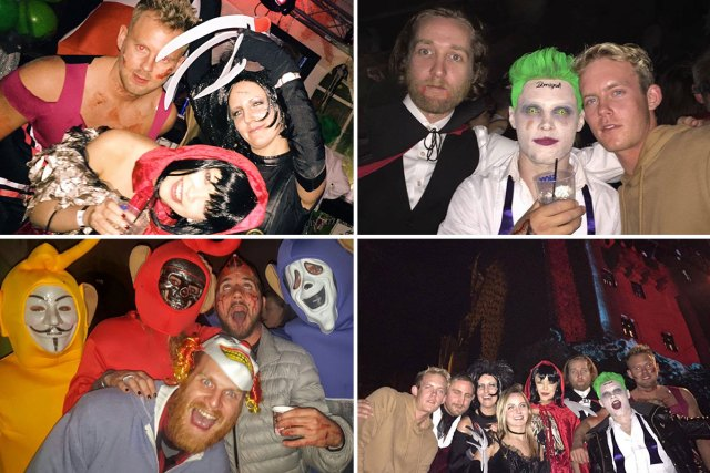 The Best Halloween party on the planet… Bran Castle!