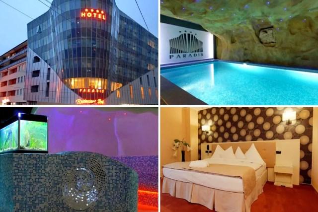 4 star Hotel Paradis in Cluj-Napoca, Transylvania. Romania