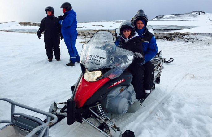 Iceland Snowmobile
