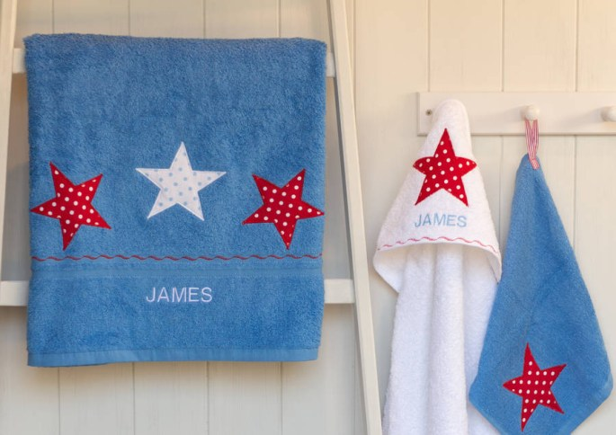 Personalised towel from Not On The High Street