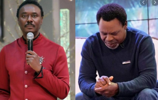 Did Chris Okotie refer to late TB Joshua has a wizard?