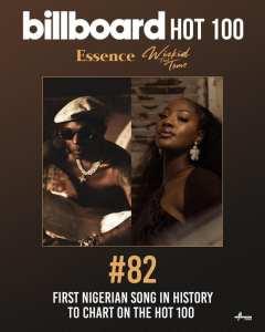 Essence' makes Billboard hot 100