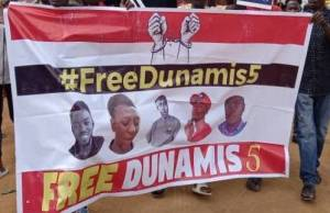 Court orders DSS to release five protesters arrested at Dunamis church