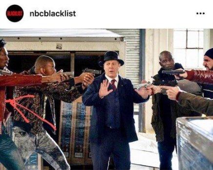 Boma starred in 'Blacklist',