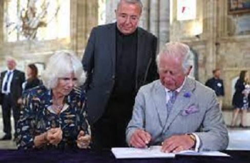 Prince Charles And Wife, Ditch Face Mask On 'Freedom Day' Cathedral Visit