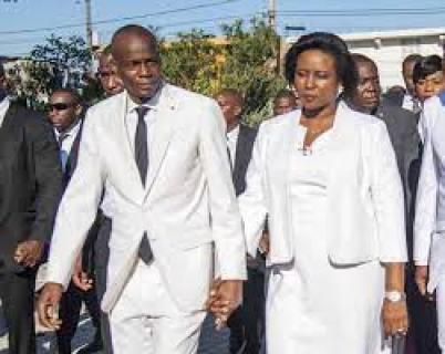 Haiti First Lady, Martine Moïse, photos from hospital, Haiti