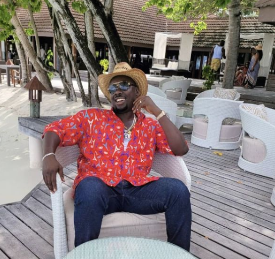 Obi Cubana and his wife, alongside other friends are currently on vaction. This comes just days after the businessman buried his mother ib Oba. Obi shared photos of himself and wife on his social media page -- Instagram precisely, while his asocautes have also been sharing their on ther various IG pages.  The location? Maldives!!!