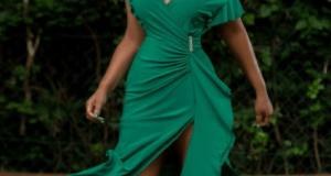 Birthday Girl, Rita Dominic Stuns In GREEN