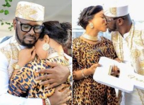Tonto Dikeh's man now playing fatherly role to King Andre
